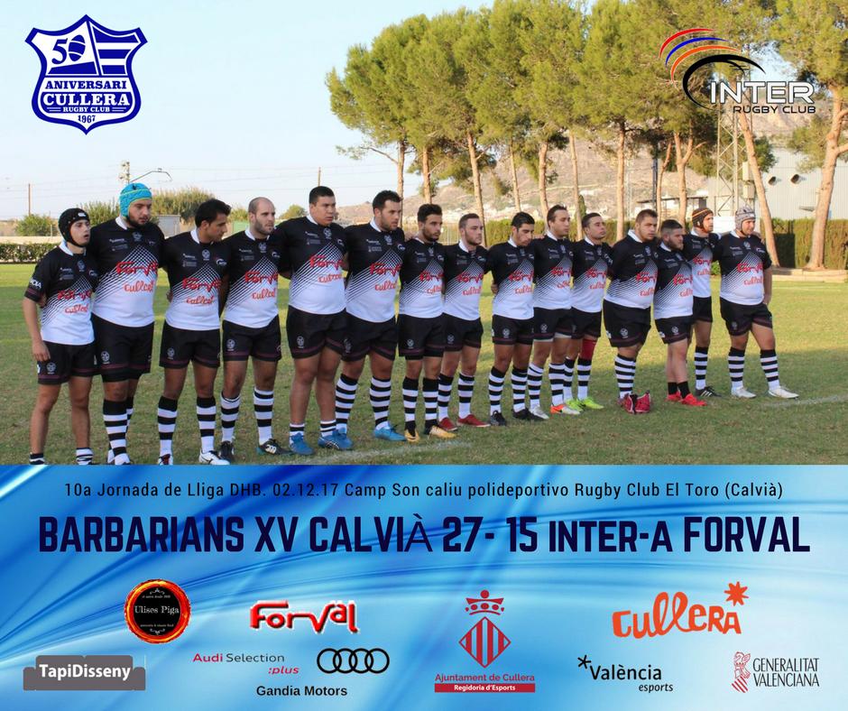 Barbarians Calvià vs Inter Forval Cullera