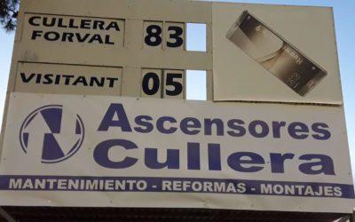 Nova victòria de l'INTER-A Forval Cullera